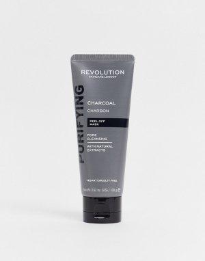Очищающая угольная маска-пилинг Skincare Pore Cleansing Charcoal Peel Off Mask-Бесцветный Revolution