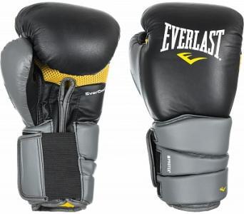 Перчатки боксерские Protex3, размер 14-16 Everlast. Цвет: черный