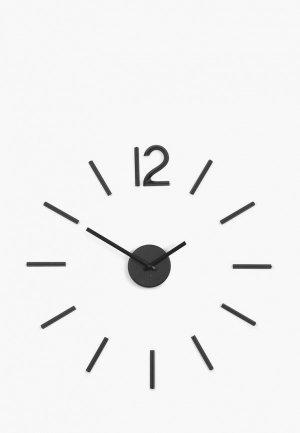 Часы настенные Umbra Blink. Цвет: черный