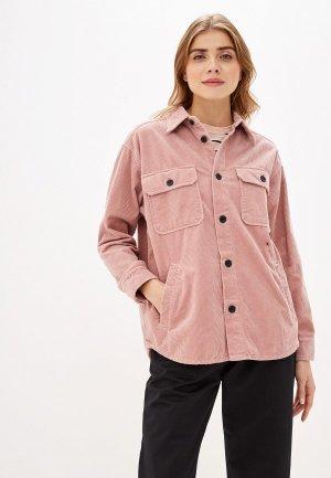 Рубашка Carhartt. Цвет: розовый