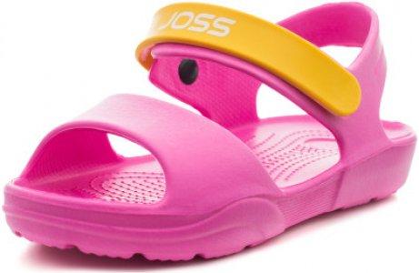 Шлепанцы для девочек G-Sand, размер 34-35 Joss. Цвет: розовый