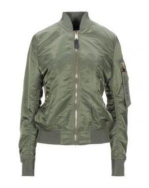 Куртка ALPHA INDUSTRIES. Цвет: зеленый-милитари