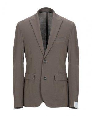 Пиджак PAOLO PECORA. Цвет: хаки