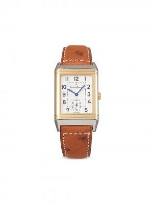 Наручные часы Reverso Medium Small Seconds pre-owned 42 мм 2005-го года Jaeger-LeCoultre. Цвет: серебристый