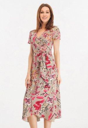 Платье Giulia Rossi. Цвет: бежевый