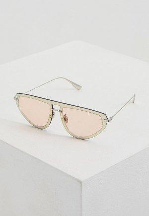 Очки солнцезащитные Christian Dior DIORULTIME2 OFY. Цвет: золотой
