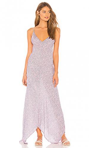 Платье bianca Tiare Hawaii. Цвет: розовый