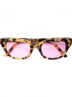 Солнцезащитные очки CTNMB Heron Preston. Цвет: разноцветный