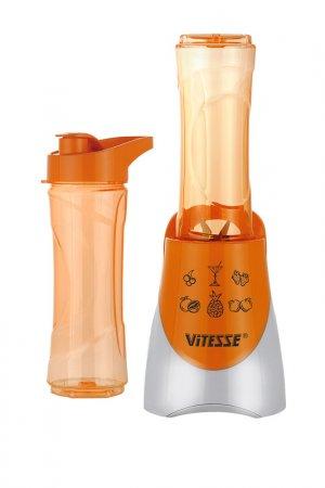 Блендер для напитков Vitesse. Цвет: оранжевый, белый