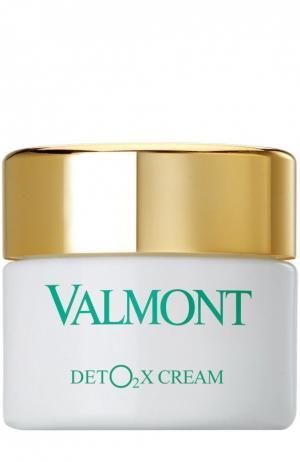 Детокс-крем Кислородный Уход Valmont. Цвет: бесцветный