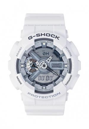 Часы Casio G-SHOCK GA-110C-7A. Цвет: белый
