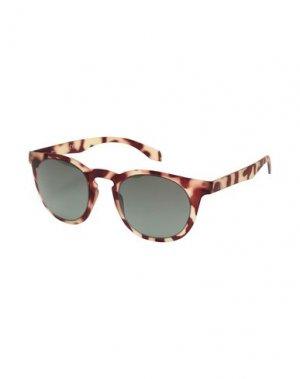 Солнечные очки ALSTECA. Цвет: бежевый