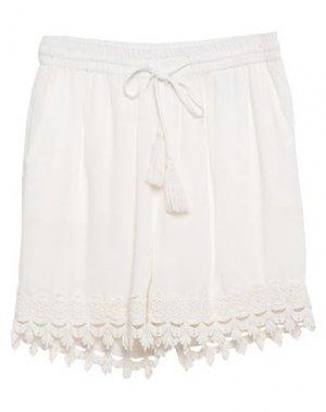 Повседневные шорты B.YOUNG. Цвет: белый
