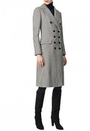 Пальто LUISA SPAGNOLI. Цвет: серый