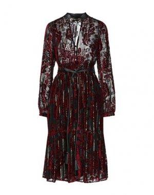 Платье до колена BABYLON. Цвет: красный