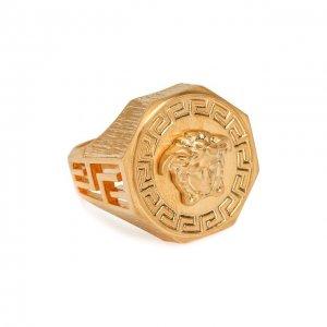 Кольцо Versace. Цвет: золотой