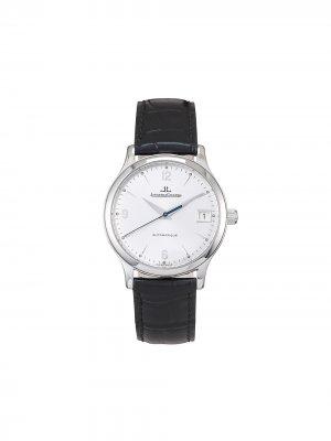 Наручные часы Master Control pre-owned 34 мм 1996-го года Jaeger-LeCoultre. Цвет: серебристый