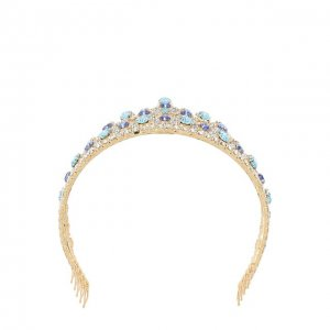 Диадема с отделкой из кристаллов Swarovski Dolce & Gabbana. Цвет: разноцветный