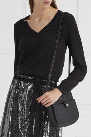 Комбинированный пуловер Nina Ricci