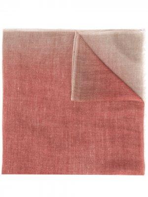 Кашемировый шарф с принтом Avant Toi. Цвет: нейтральные цвета