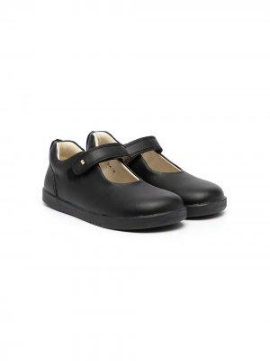 Туфли с логотипом bobux. Цвет: черный