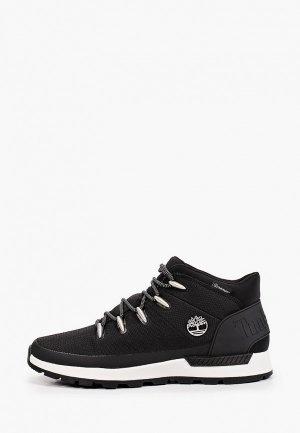 Ботинки Timberland Sprint Trekker Mid Fabric WP JET BLACK. Цвет: черный