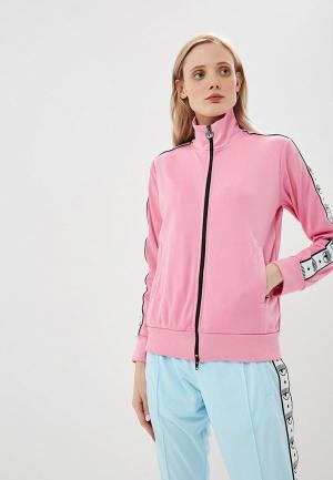 Олимпийка Chiara Ferragni Collection. Цвет: розовый