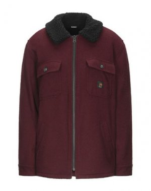 Куртка HUDSON. Цвет: красно-коричневый