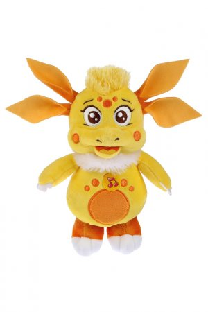 Игрушка мягкая Лунтик: Луня Мульти-пульти. Цвет: желтый