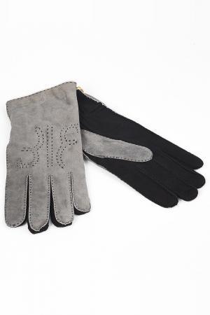 Перчатки Billionaire. Цвет: серый