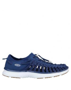 Низкие кеды и кроссовки KEEN. Цвет: ярко-синий