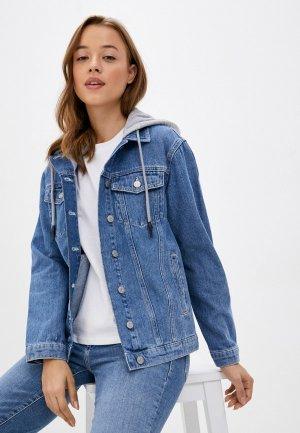 Куртка джинсовая Mavi KARLA. Цвет: синий