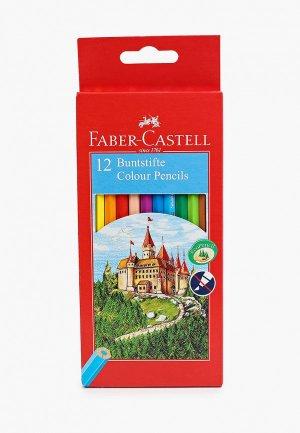Набор карандашей Faber-Castell цветных Замок, 12 цветов. Цвет: разноцветный