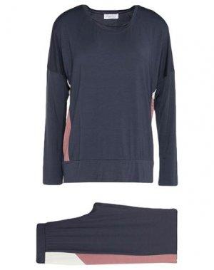 Пижама FEMILET. Цвет: темно-синий