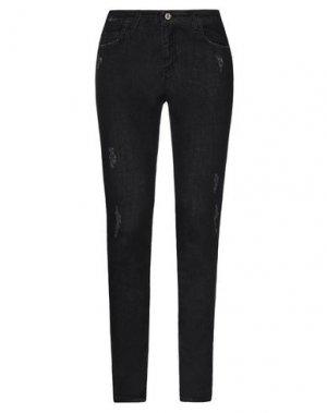Джинсовые брюки ATOS LOMBARDINI. Цвет: черный