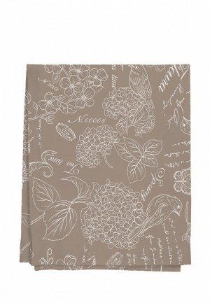 Скатерть Mia Cara Жозефина 180х145 см. Цвет: коричневый