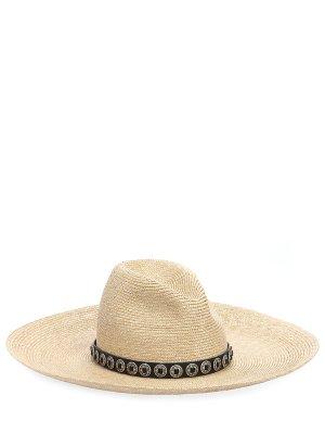 Шляпа соломенная YSL