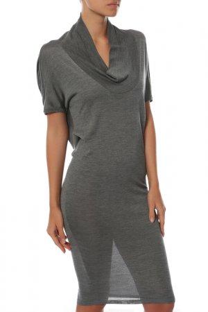 Платье Balenciaga. Цвет: серый