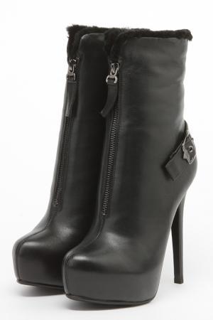 Ботинки Basic Editions. Цвет: черный