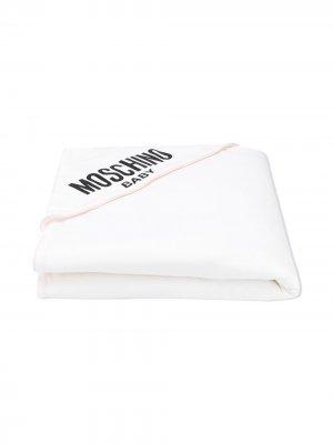 Одеяло с логотипом Moschino Kids. Цвет: розовый