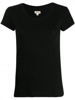 LAgence футболка кроя слим L'Agence. Цвет: черный