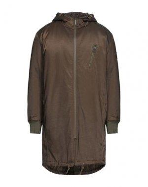 Куртка CHEAP MONDAY. Цвет: темно-зеленый