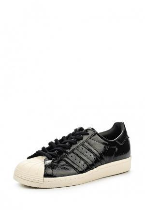 Кеды adidas Originals SUPERSTAR 80s W. Цвет: черный