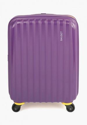 Чемодан Baudet 35 л (S). Цвет: фиолетовый