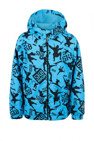 Куртка PlayToday. Цвет: голубой