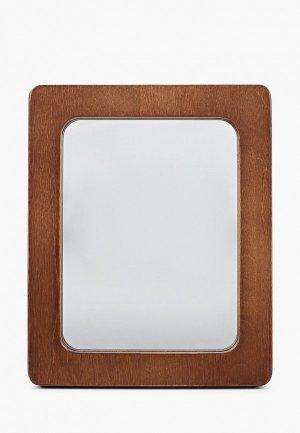 Зеркало настольное Мастер Рио. Цвет: коричневый