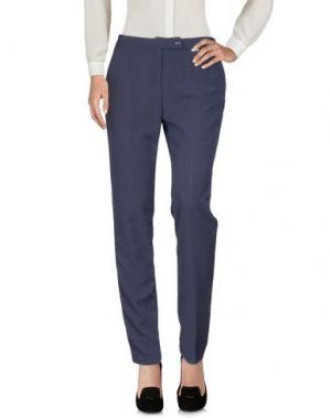 Повседневные брюки CANNELLA. Цвет: темно-синий