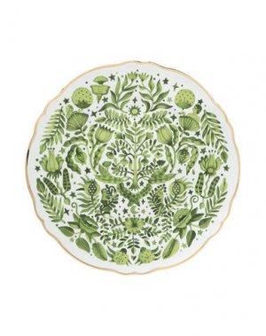 Декоративная тарелка BITOSSI HOME. Цвет: белый