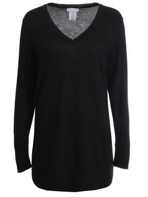 Пуловер из шерсти Gran Sasso. Цвет: черный