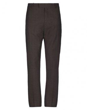 Повседневные брюки BAND OF OUTSIDERS. Цвет: темно-коричневый